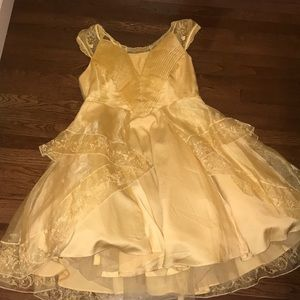 beauty & the beast inspired prom dress from Torrid